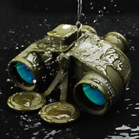 10x50 BAK4 FMC Lens RangeFinder Binoculars Telescope&Compass scope