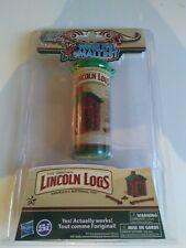 World's Smallest Lincoln Logs Miniature Cabin Toy Doll House new sealed #542