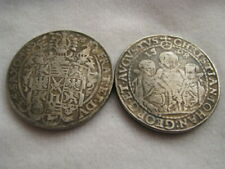 Germany 1598 Taler Saxony 3 Brothers Christian Johann August, Fantasy Coin Medal