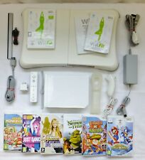 NINTENDO MARIO & SONIC OLYMPIC GAMES & Wii FIT CONSOLE PACKAGE + BALANCE BOARD