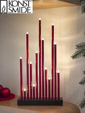 LED Schwedenleuchter Lichterbogen Schwibbogen Leuchter Konstsmide  Metall