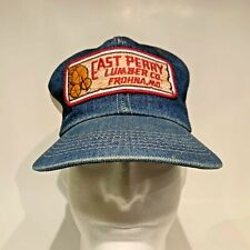 Vintage East Perry Lumber Co. Frohna, Mo. Snapback Trucker Hat Cap