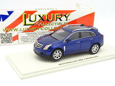 Luxury Collectibles 1/43 - Cadillac SRX Crossover 2011 Bleue