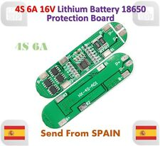 4S 6A 16V Li-ion Lithium 18650 BMS PCM Battery Protection Board