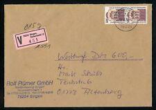 BUND Nr.1679 PAAR WERT-BRIEF Mehrfachfrankatur 19.10.1994 !!! (109526)