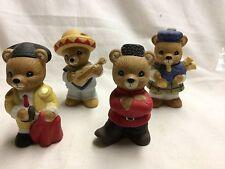 Homco -International Bears of the World - Four