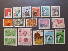 Vietnam 1976 ...– Lot of 12 Complete Sets of Military Stamps - VF, MNH