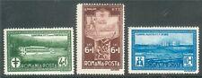 Romania 1932 PTT, Post Tuberculosis Sanatorium, Resorts, Hotels, War, MH