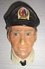 1972 Chalkware Bosson's Head - Norman Rockwell's Sea Captain