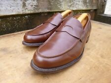 CHURCH LOAFERS – BROWN / TAN – UK 11 (NARROW) – BRISTOL - EXCELLENT CONDITION