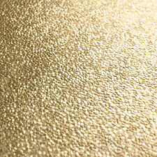 Amelia Metallic Gold Textured Wallpaper From Muriva 701433