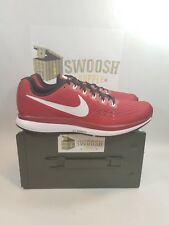 NIKE AIR ZOOM PEGASUS 34 TB RUNNING SHOES NEW Crimson Size 12 NEW 887009-603