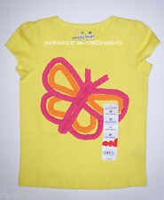 JUMPING BEANS – TOP – YELLOW – PINK & ORANGE BUTTERFLY – TODDLER - 2T – NWT $14