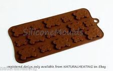 Peek A Boo Orsacchiotti Cioccolato Candy Mold Cupcake in Silicone Piatti da Forno Stampo Fondente