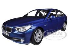 BMW 5 SERIES GT BLUE 1/24 DIECAST MODEL CAR BY MOTORMAX 73352