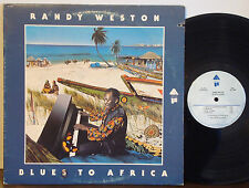 RANDY WESTON Blues to Africa RARE EXC 1975 ORIGINAL ARISTA/FREEDOM LP Free Jazz