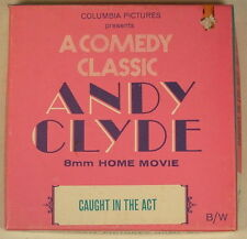 ANDY CLYDE CAUGHT IN THE ACT COLUMBIA PICTURES 8MM MOVIE