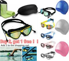 Mirror Clear Swimming Goggles Anti-UV Anti-Fog Swim Glasses For Adult Men Women