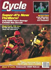Cycle magazine - January 1987