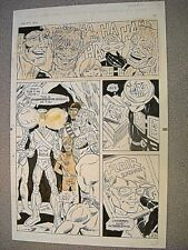 Original Comic Book Art Zen 1992 by Ross Andru / Esposito