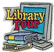 Girl Boy Cub LIBRARY TOUR Visit Patches Crests Badges SCOUTS GUIDES Fun Books