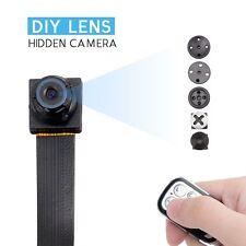 HOT 1080 HD Screw spy hidden video micro nanny pinhole camera DVR recorder cam