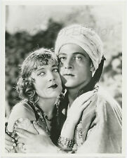"Vilma Bánky & Rudolph Valentino 1926 ""The Son of the Sheik"" Publicity Still b/w"