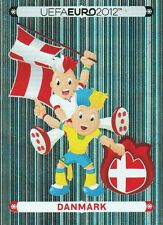 Panini 194 Maskottchen Danmark Dänemark EM 2012 Poland - Ukraine