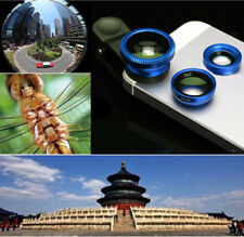 3in1 Fish Eye+ Wide Angle + Macro Camera Clip Lens for iPhone6s 5s/5 htc samsung