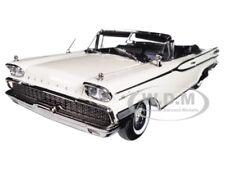 1959 MERCURY PARK LANE OPEN CONVERTIBLE WHITE 1/18 PLATINUM EDITION SUNSTAR 5154