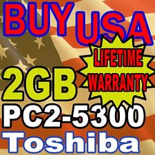 2GB PC2-5300 Toshiba Satellite U205-S5002 MEMORY RAM