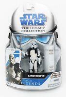 Sandtrooper Corporal SL 21 Star Wars Legacy Collection Saga Legends Unopened!