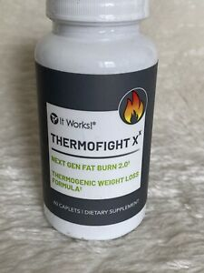 IT WORKS Thermofight X 60 Capsules Next Gen Fat Burn Weight Loss