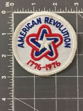American Revolution Patch 1776 1976 200 Year Bicentennial Patriotic Independence