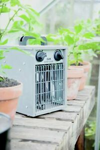 Apollo 2KW Electric Green House Heater Thermostat Thermostatic Hydrophonics