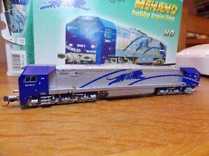 MEHANO CLASS DE-AC33 DIESEL LOCO No 250 001-5 in BLUE TIGER Livery H0 Gauge
