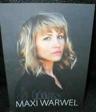 Maxi Warwel (2), Bergretter, Autogramm, original signiert!
