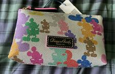 New Mickey Mouse Disney Cosmetic Bag by Dooney & Bourke – 10th Anniversary Nwt