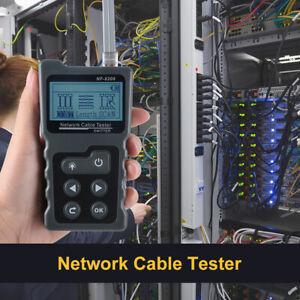 Testeur de réseau Mètre PoE RJ45 LAN STP UTP Câble Numérique Analog AC2215