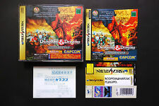 DUNGEONS & DRAGONS COLLECTION + Spine.Card Sega Saturn JAPAN Very.Good.Condition