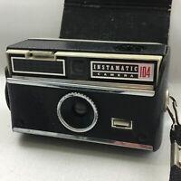 Vintage Kodak Instamatic 104 Film Camera, in Case, Retro, Lomo