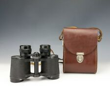 Vintage Pair Of Leather Cased Carl Zeiss Jena - Jenoptem 8 x 30W Binoculars
