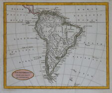 SOUTH AMERICA FROM THE BEST AUTHORITIES, CIRCA  1820.