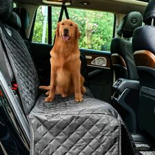 Dog Car Seat Cover View Mesh Pet Carrier Hammock Safety Protector Rear Back Mat