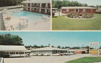 (T)  Tell City, IN - Lincoln Trail Motel & Restaurant - Pool, Grounds, Exterior