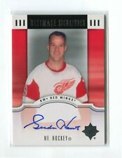 2007-08 Ultimate Collection Signatures #US-GH Gordie Howe