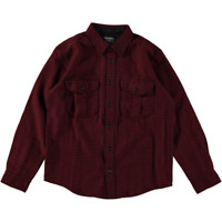 Filson Northwest Wool Shirt Red Black Houndstooth