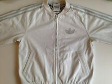 Adidas Adicolor W1 Leather Jacket white Medium A15