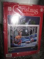 "Designs For the Needle Christmas Traditions needlepoint kit 1928 ""Silent Night"""