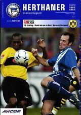 BL 2002/03 Hertha BSC - Borussia Dortmund, 25.01.2003 - Poster Gábor Király
